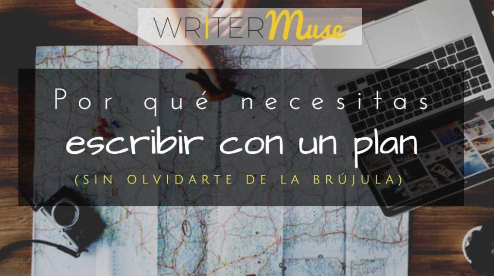 escribir con un plan escritor de mapa brujula writermuse
