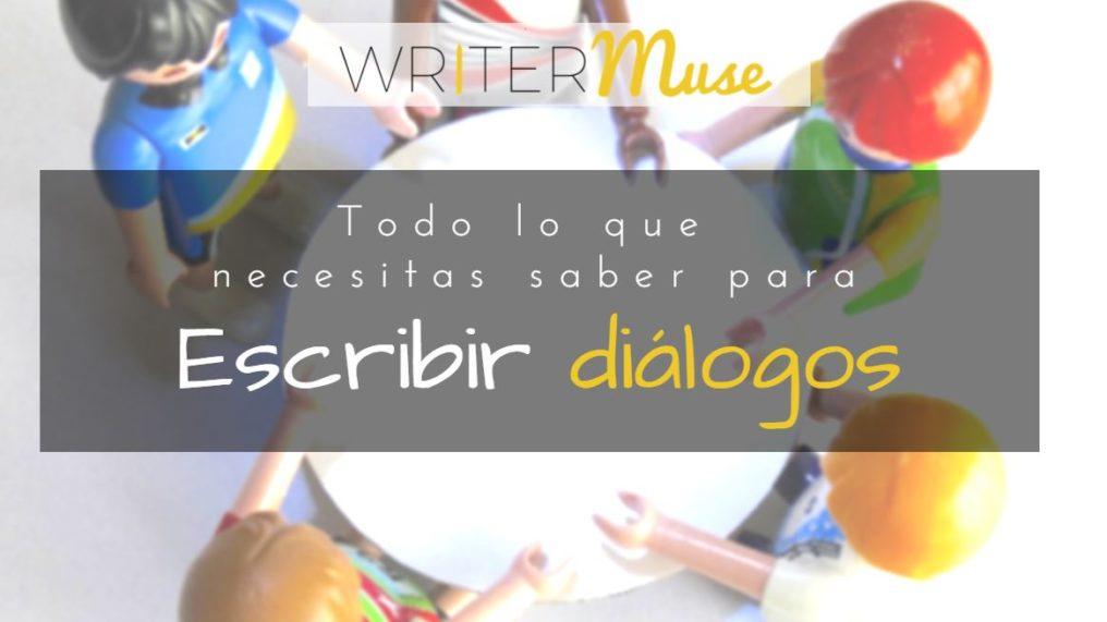 escribir dialogos - writermuse