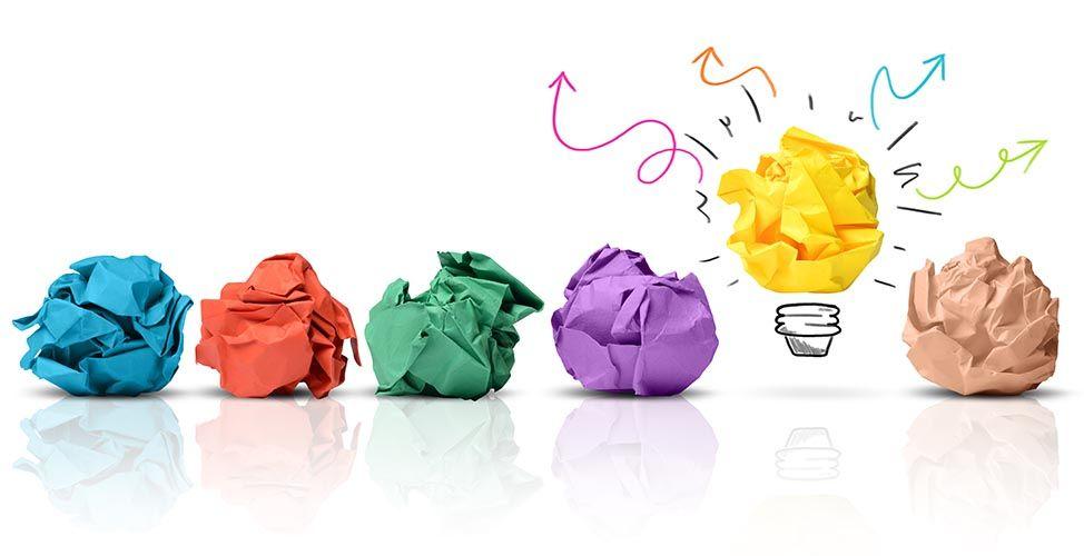 creatividad y cometer errores