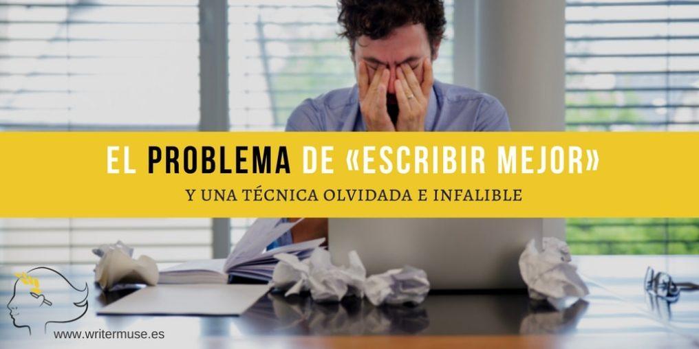 El problema de escribir mejor y una técnica olvidada e infalible - la retórica y la imitación - WriterMuse-min