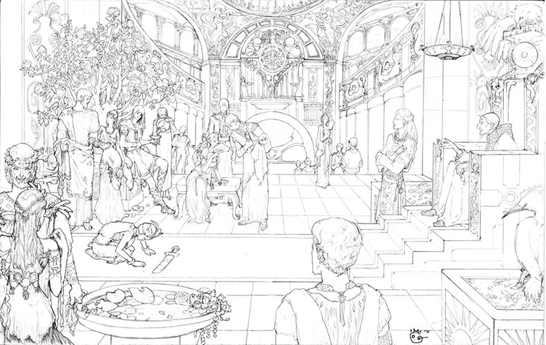 los cien mil reinos - ilustración de dubugomdori - 1 (1)