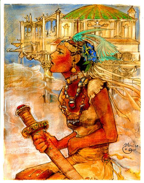 los cien mil reinos - ilustración de dubugomdori - 2 (1)