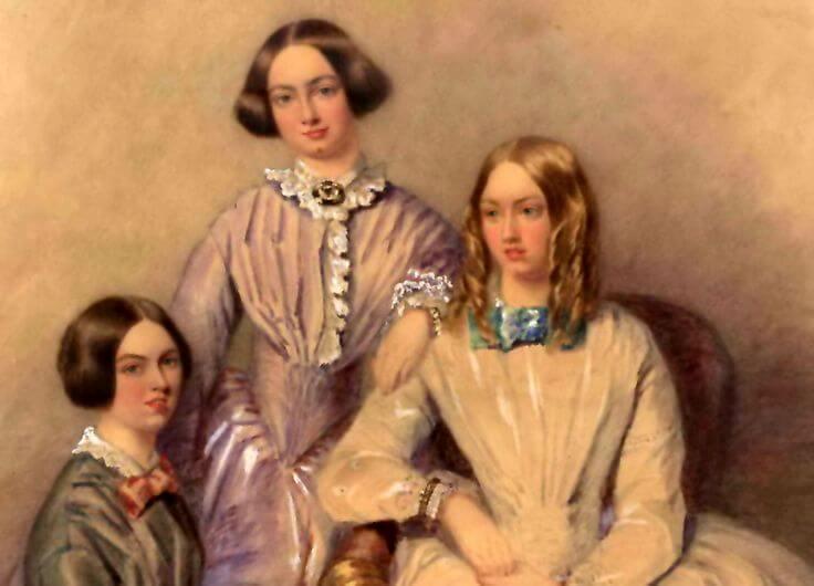 hermanas bronte - cuadro más temprano - talento para escribir (1)